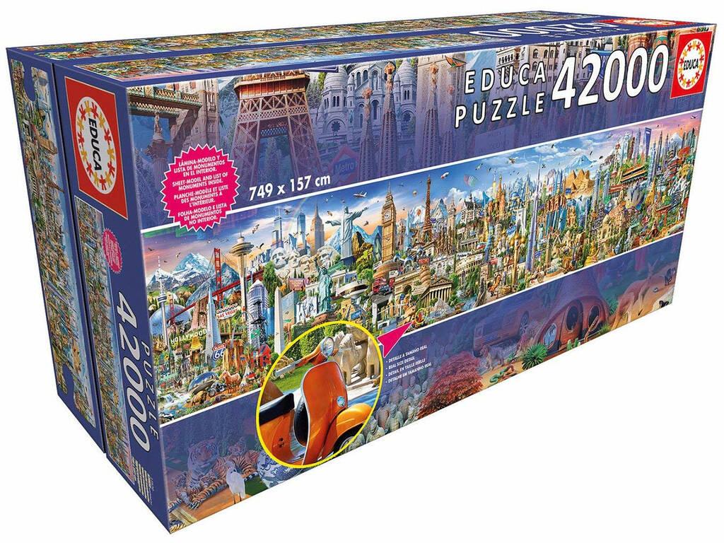 Puzzle 42000 Around The World Educa 17570