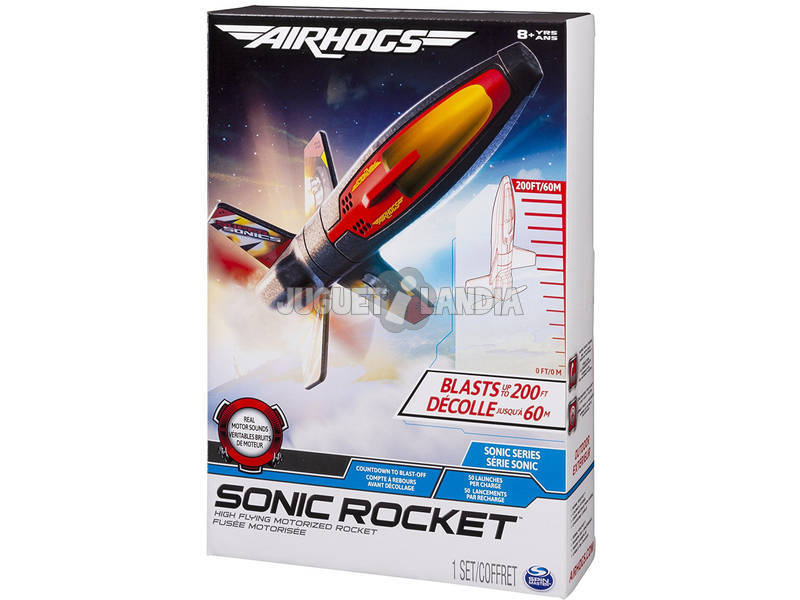 Radio control Air Hogs Sonic Rocket Bizak 4632