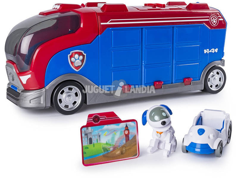 Patrulha Canina Mission Cruiser Ônibus Bizak 6719