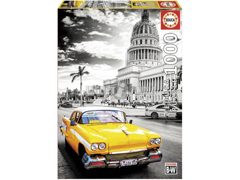 Quebra-cabeça 1000 Táxi Na Habana Educa 17690