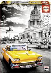 imagen Puzzle 1000 Taxi En La Habana Educa 17690