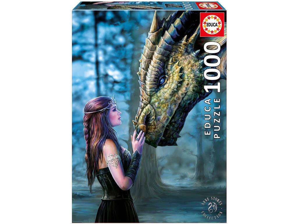 Puzzle 1000 C'era Una Volta di Anne Stokes Educa 17099