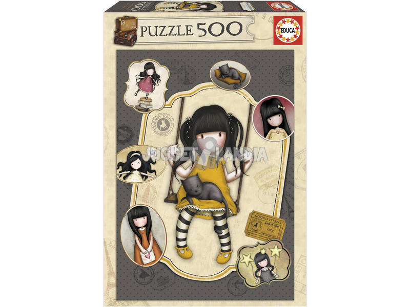 Puzzle 500 Ruby Gorjuss Educa 17653