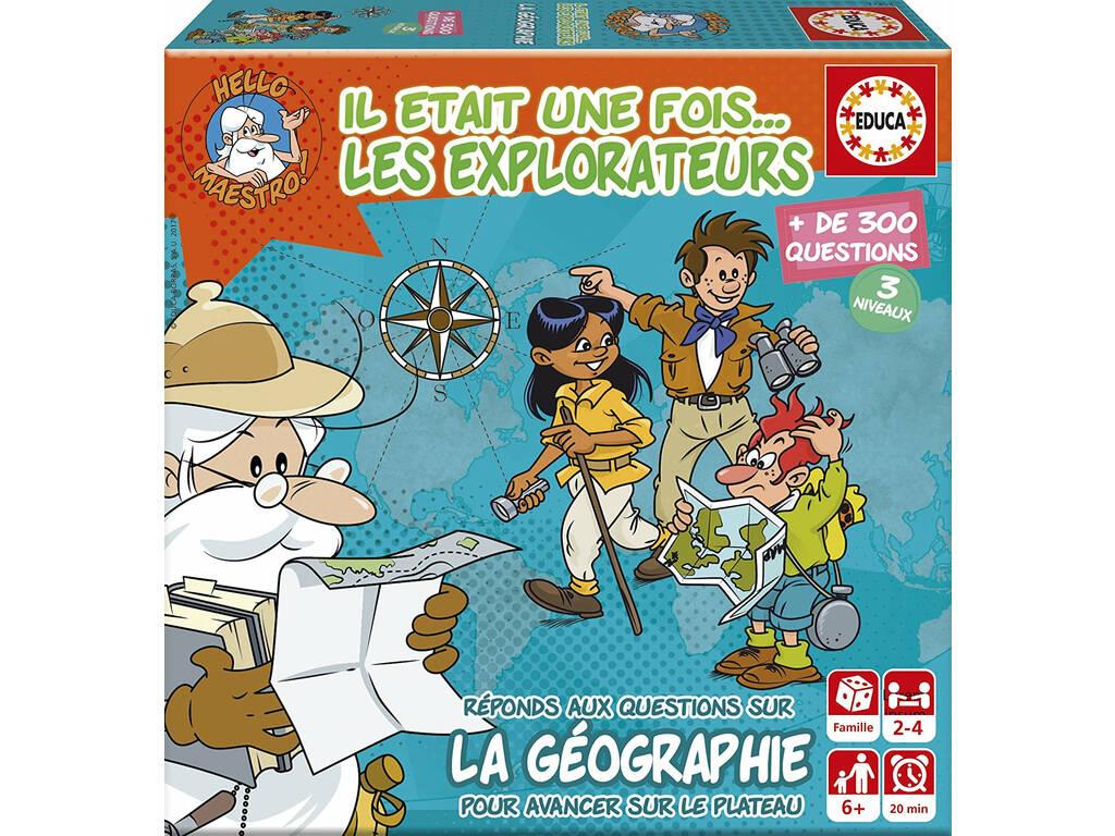 Mini Jeu Il Etait Une Fois . . . Les Explorateurs Educa 17354