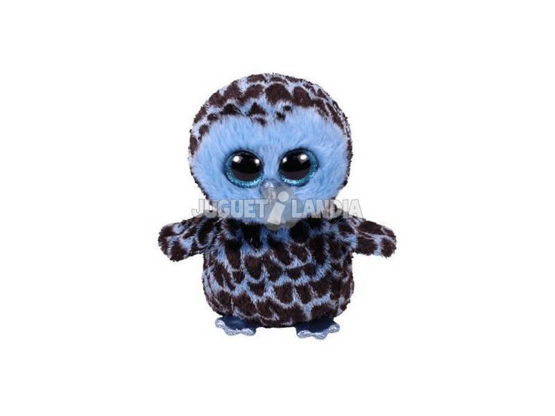 Peluche Yago Gufo Blu 15 Cm Te 36896