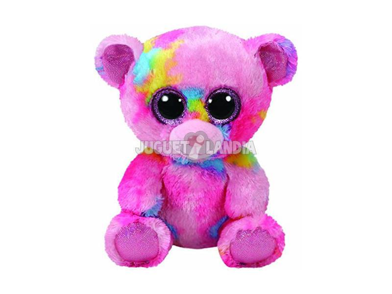 Peluche Frankie Osso Rosa Várias cores 15 Cm TY 36899TY