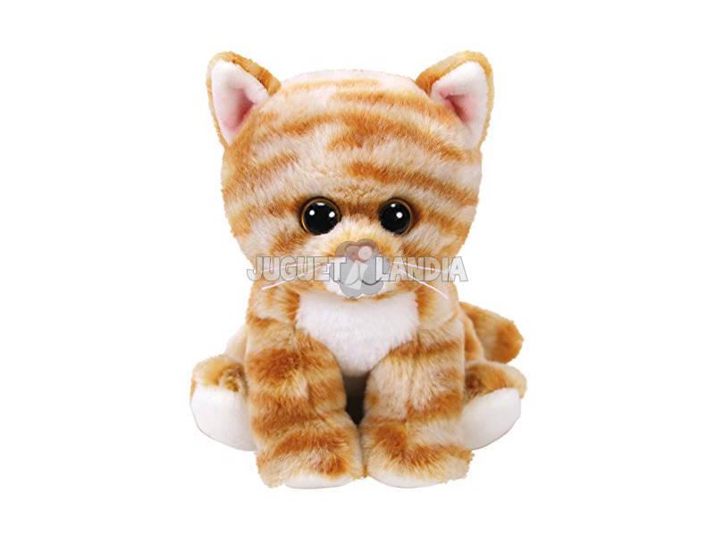 Peluche Cleo Gold Tabby Cat 15 cm. Ty 42305