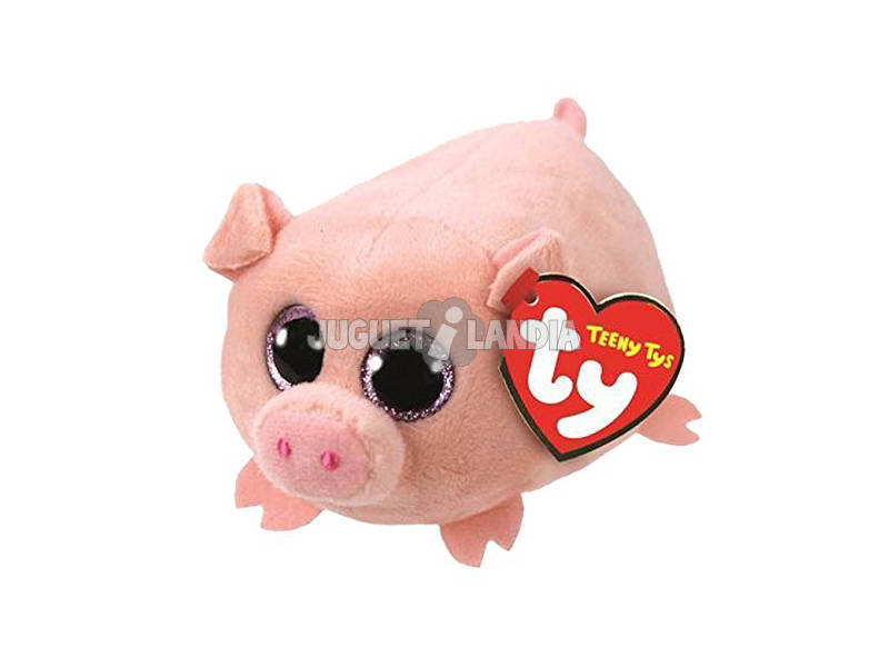 Peluche Teeny Tys Curly Pig 5 cm. Ty 41248