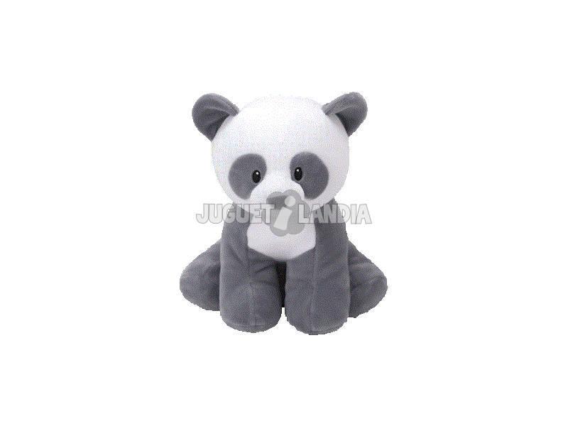 Peluche Baby Mittens Panda Grigio 15 cm. Te 82165