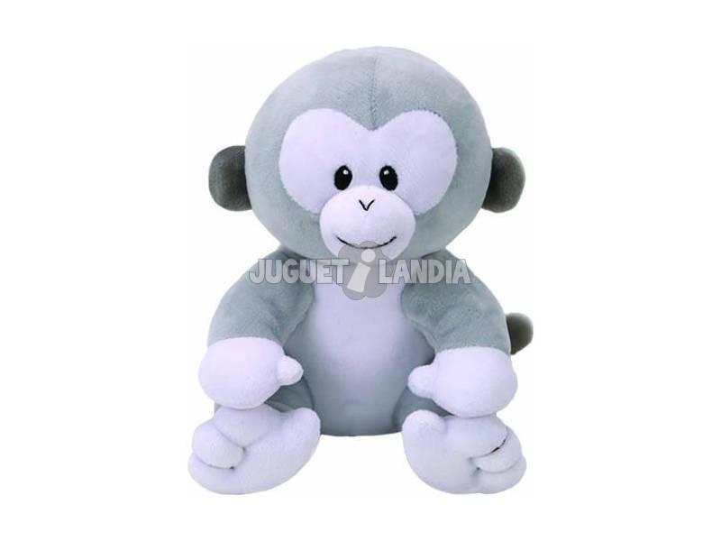 Pelúcia Baby Pookie Grey Monkey 15 cm. Ty 82166