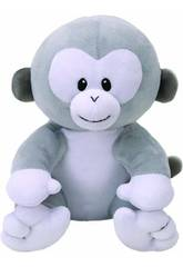 Peluche Baby Pookie Grey Monkey 15cm. Ty 8216