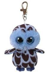 imagen Peluche Llavero Yago Blue Owl 10 cm Ty 35212