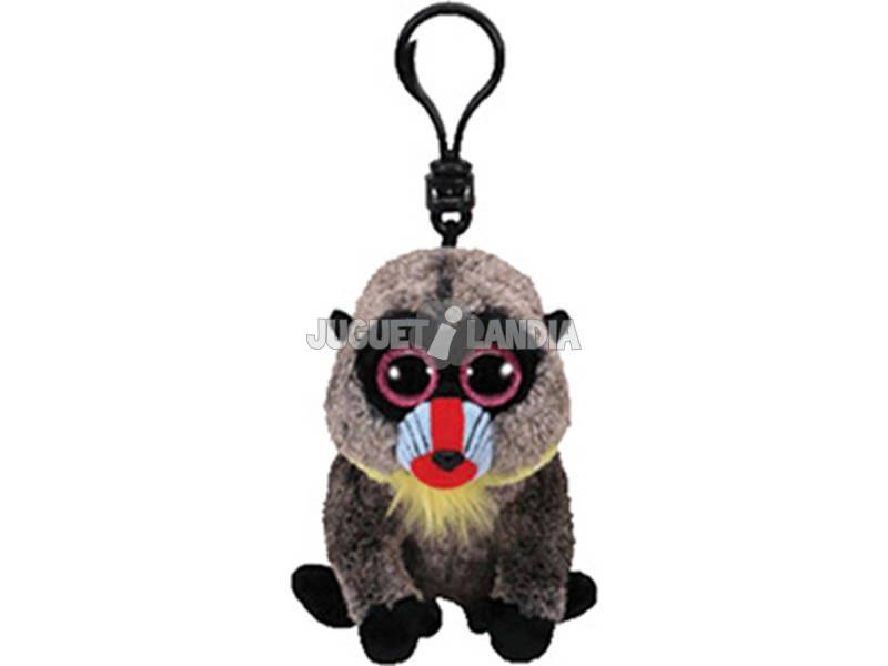 Peluche Porta-chaves Wasabi Baboon 10 cm. TY 36563TY