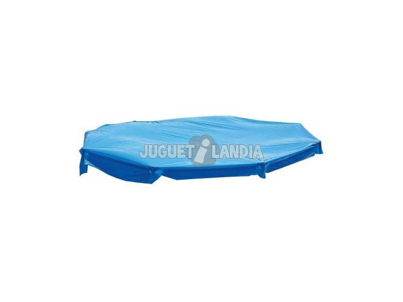 Cobertura para piscina hexagonal de 250 cm. Toi 4837