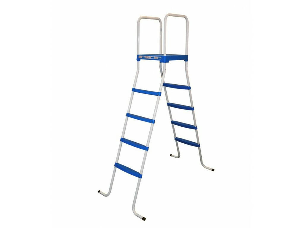 Escalera Para Piscinas Con Plataforma 136 cm. Toi 4876