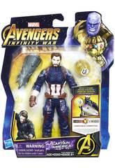 Guerra dos Infinitos Vingadores Figura 15 cm. com acessório Hasbro E0605