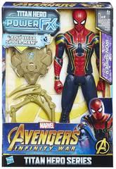 Vingadores Iron Spider Figura 30 cm. Y Mochila Potência FX Hasbro E0608