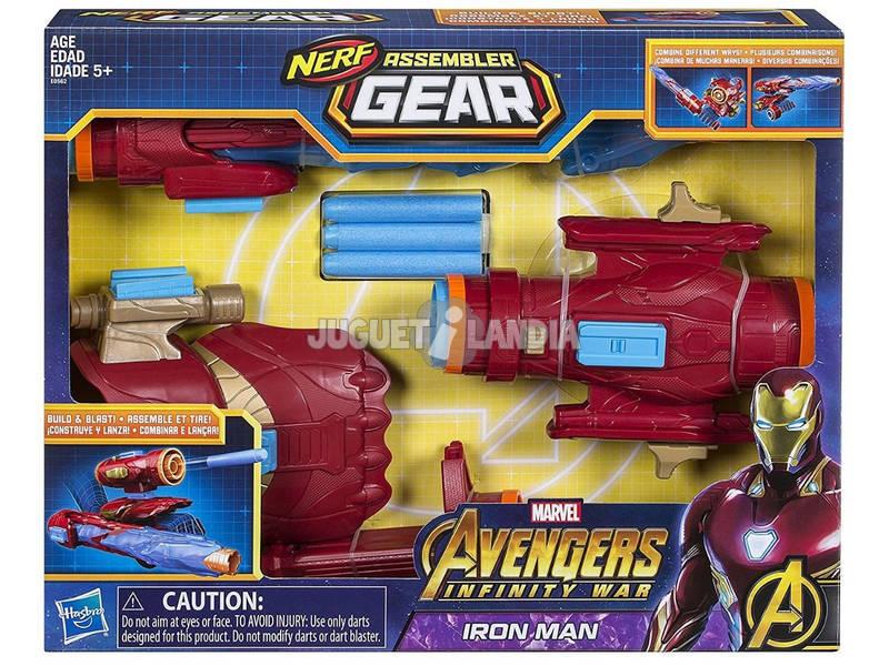 Avengers Iron Man Asembler Gear di Nerf Hasbro E0562