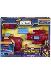 Avengers Iron Man Assembler Gear de Nerf Hasbro E0562