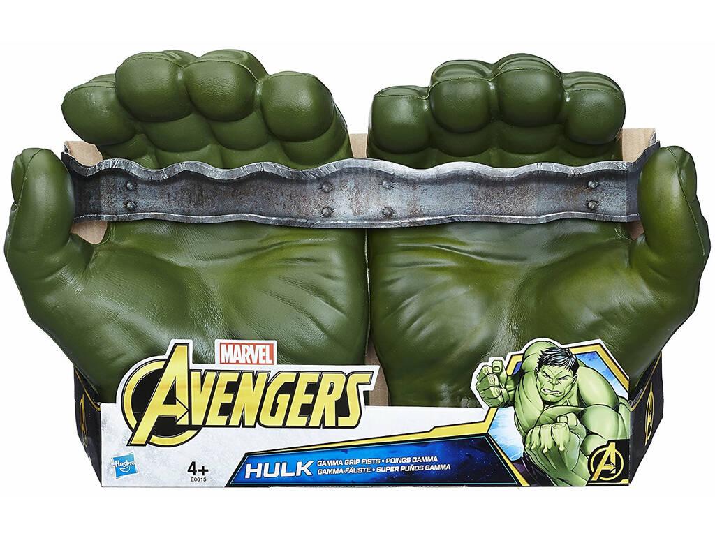 Avengers Hulk Súper Puños Gamma Hasbro E0615