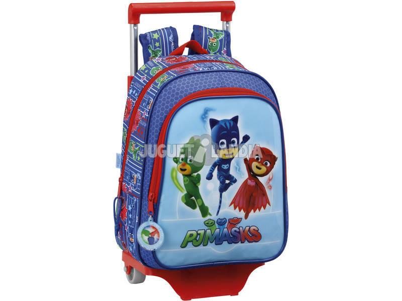 Pj Masks Mochila Infantil com Carro Safta 611711020