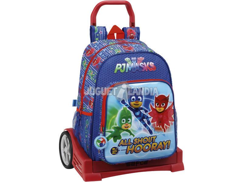 PJ Mask Mochila com Carro Evolution Safta 611711860
