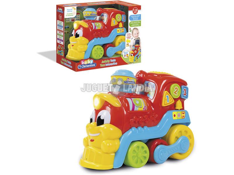 Comboio Educativo 123 Clementoni 61599