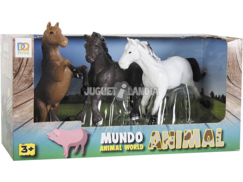 Cavalli 3 Pezzi Assortiti