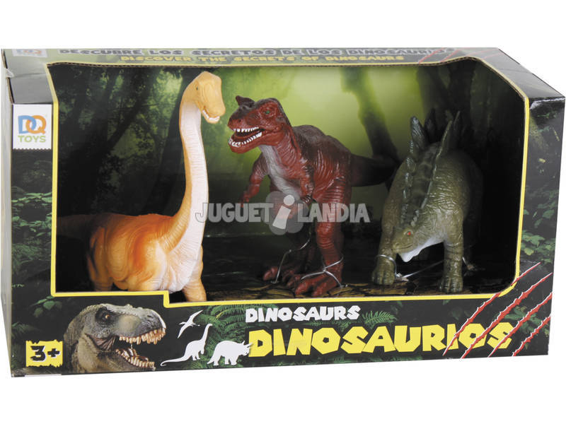 Dinosauri Pack di 3 Figure