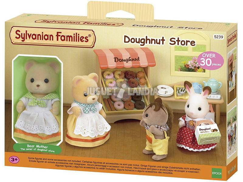 Sylvanian Famílias Epoch Donuts Store To Imagine 5239