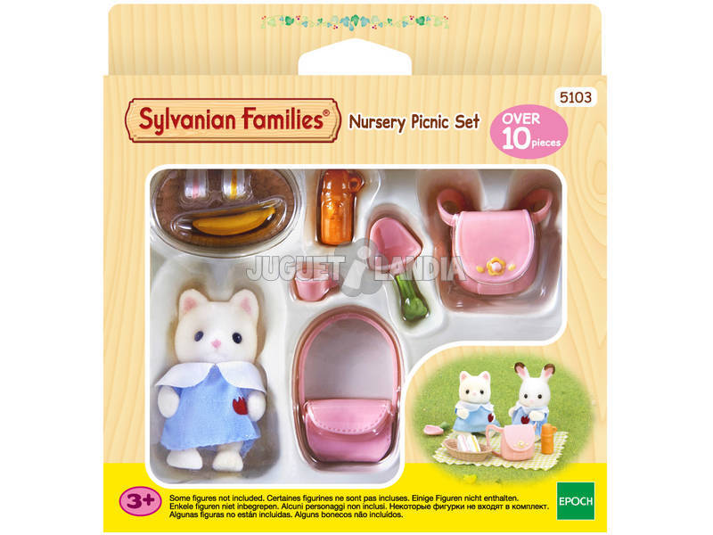 Sylvanian Famílias Picnic Nursery Set Epoch To Imagine 5103