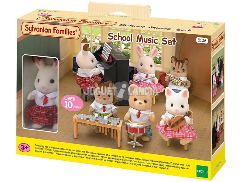 Sylvanian Families Scuola di Musica con Personaggio 5106