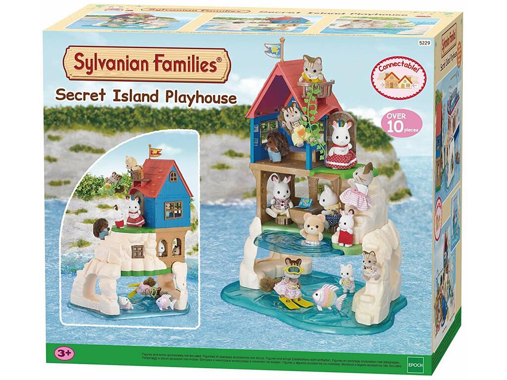 Sylvanian Families Casinha Secreta na Ilha Epoch Para Imaginar 5229