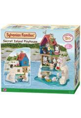 Sylvanian famille Maison secrète des sur Epochl'île imagine 5229