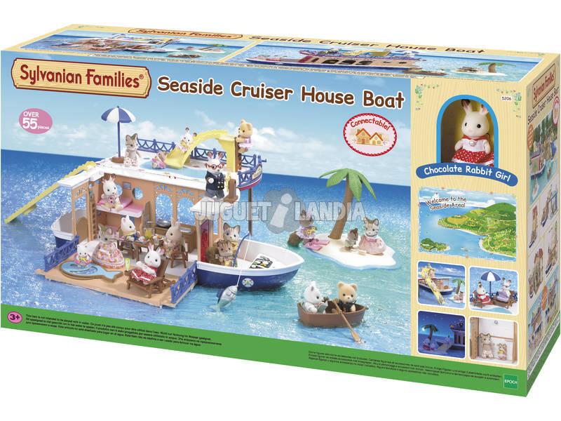Sylvanian Families - Casetta galleggiante Seaside Cruiser 5206