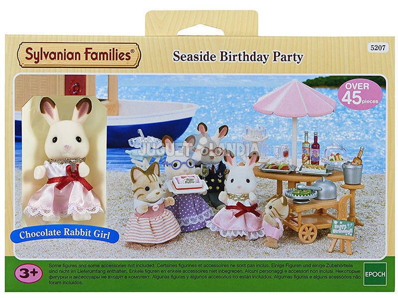 Sylvanian Families Fiesta de Cumpleaños del Mar Epoch Para Imaginar 5207