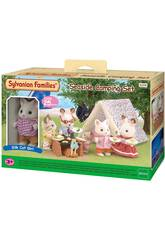 Sylvanian Famille Set Camping de la Mer Epoch Imagine 5209