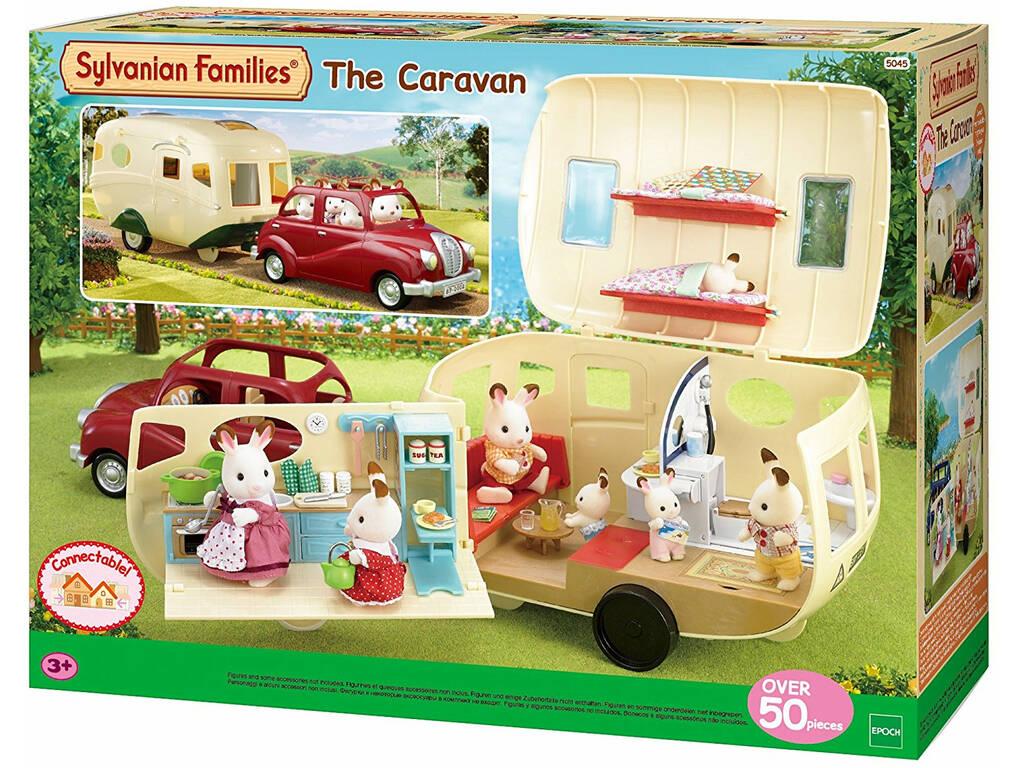 Sylvanian Families La Caravana Epoch Para Imaginar 5045