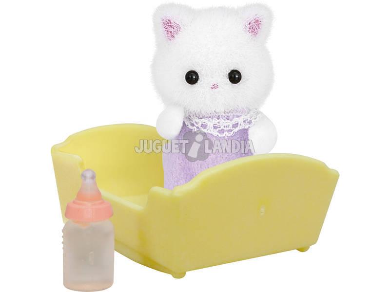 Família de Sylvanian Baby Epoch gato persa para imaginar 5217