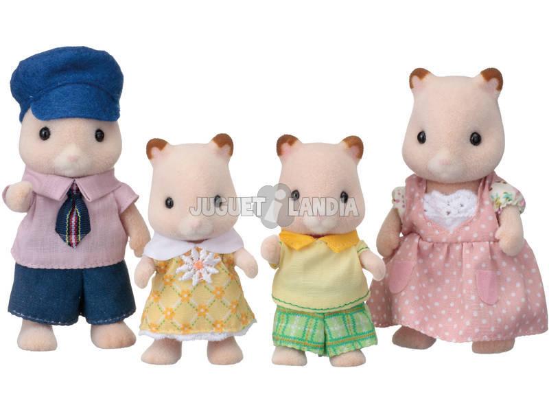 Sylvanian Families Familia Hamsters Epoch Para Imaginar 5121