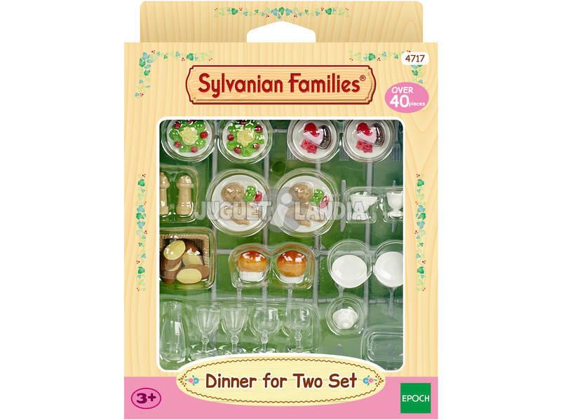 Sylvanian Families Dinner Set para 2 épocas para imaginar 4717