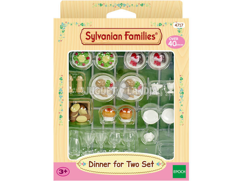 Sylvanian Families Set Cena per Due 4717