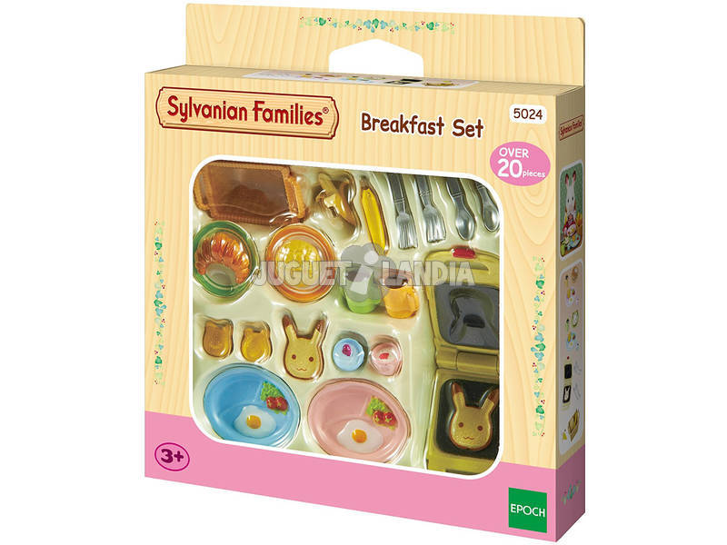 Sylvanian Epoch almoço definido para Imaginando 5024
