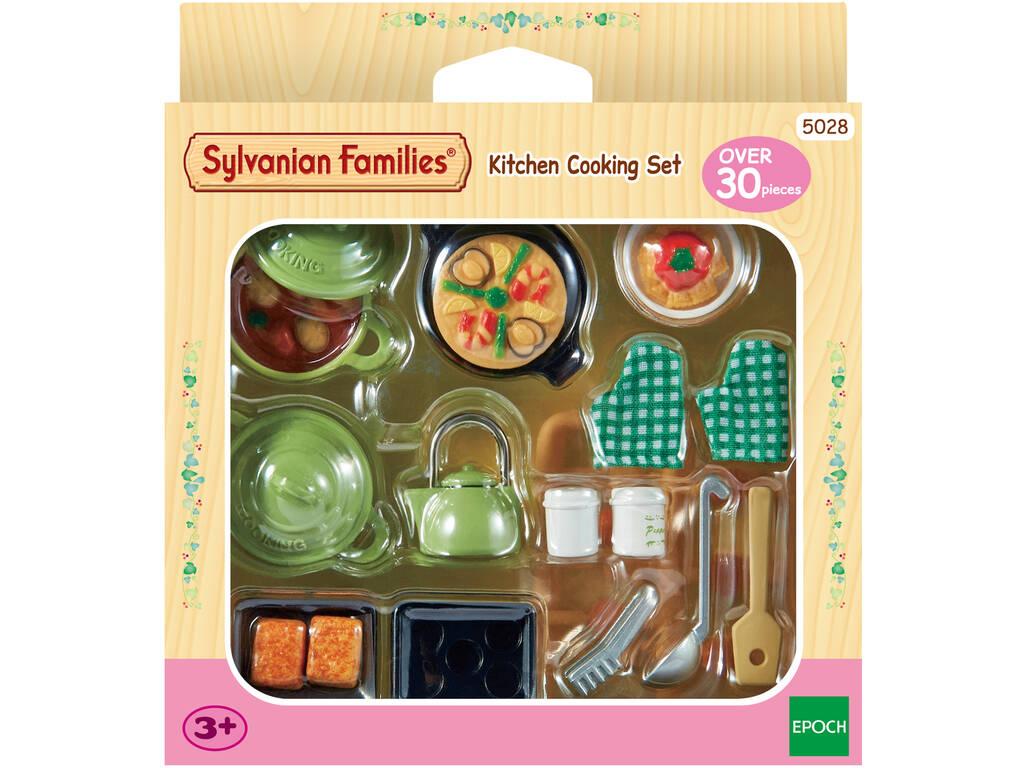 Sylvanian Families Set Para Cocinar Epoch Para Imaginar 5028