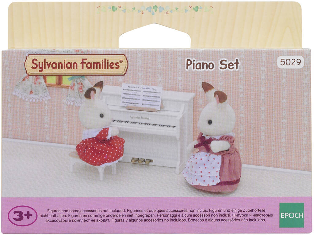Famílias Sylvanian Set Epoch Piano Para Imagine 5029