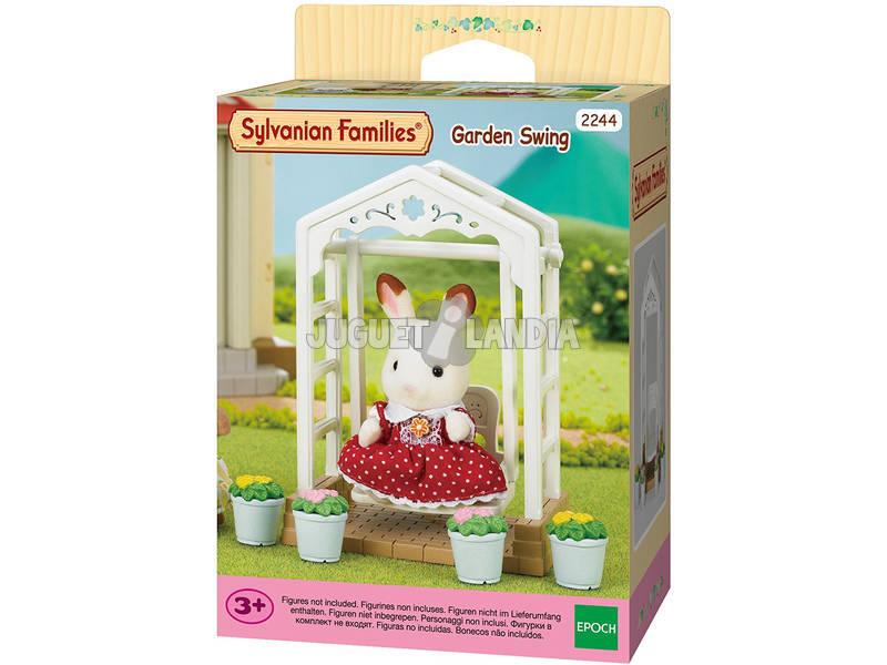 Famílias Sylvanian Epoch Garden Swing Para Imaginar 4534