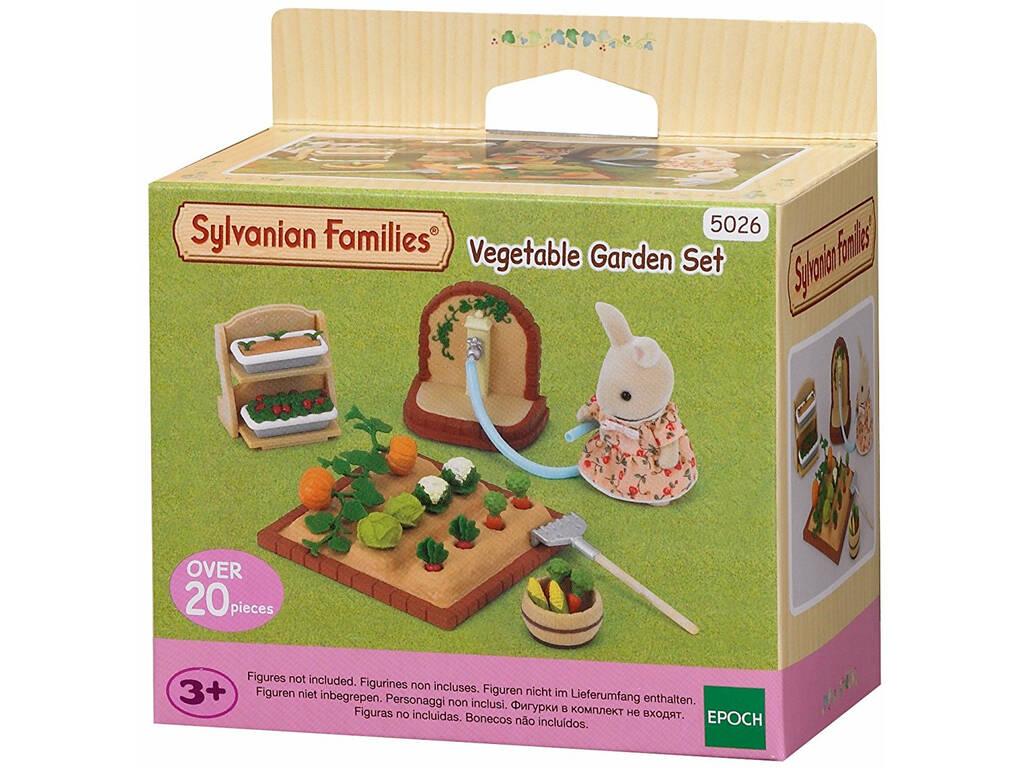 Sylvanian Families Set de Jardinería Epoch Para Imaginar 5026