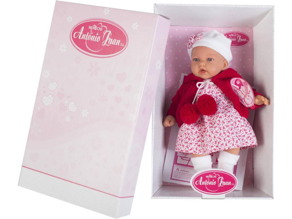 Puppe Kleine Mütze 27 cm. Antonio Juan 1220
