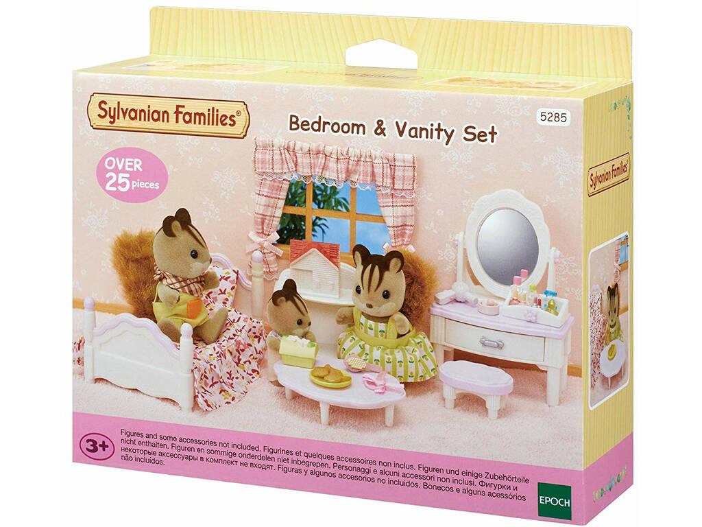Sylvanian Families Set Dormitorio y Tocador Epoch Para Imaginar 5285