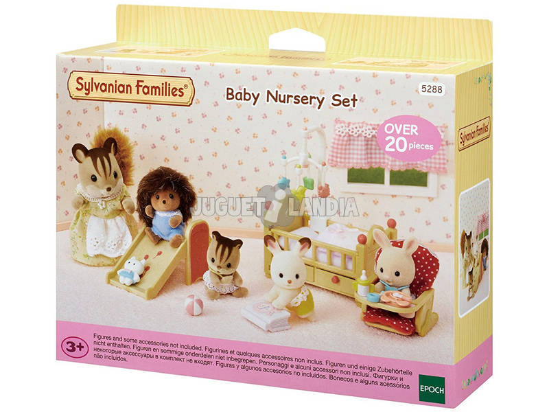 Sylvanian Families Set Mobiliario Bebés Epoch Para Imaginar 5288